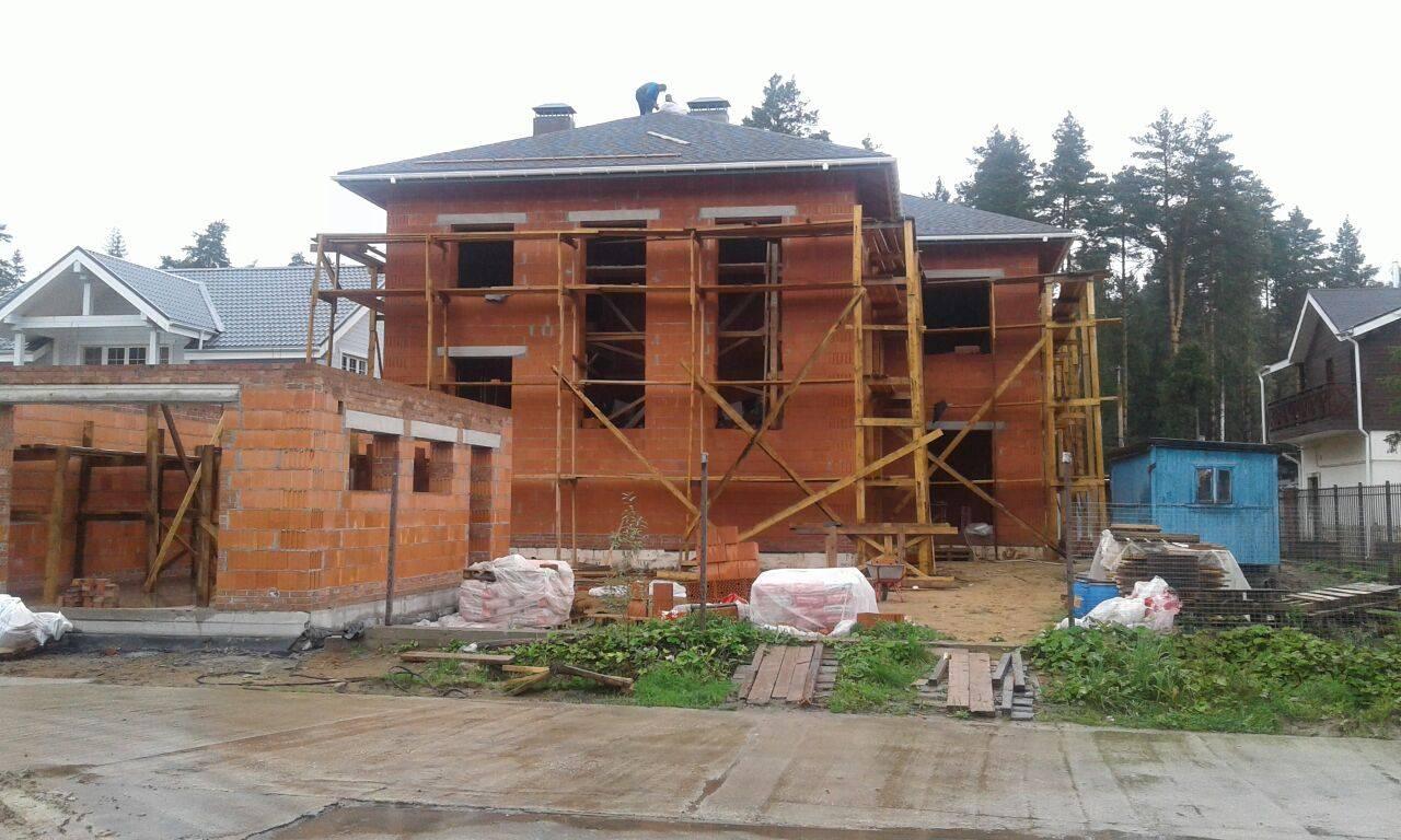 Дом из тёплой керамики строительство под ключ