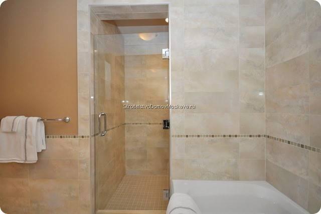 Отделка ванной комнаты в доме