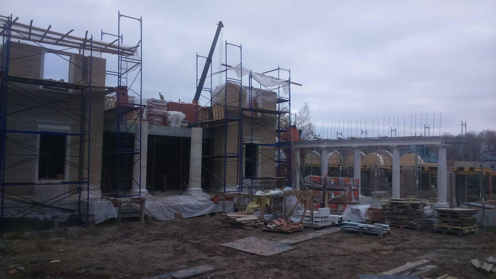 Элитных домов строительство под ключ