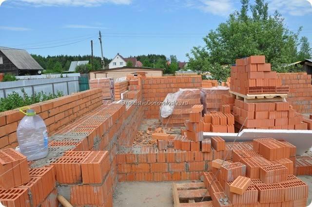 Строительство домов из кирпича в Московской области