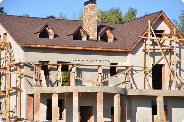 Строительство кирпичного дома Москва