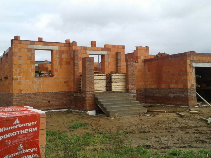 Строительство домов из керамических блоков цена за 1 м2